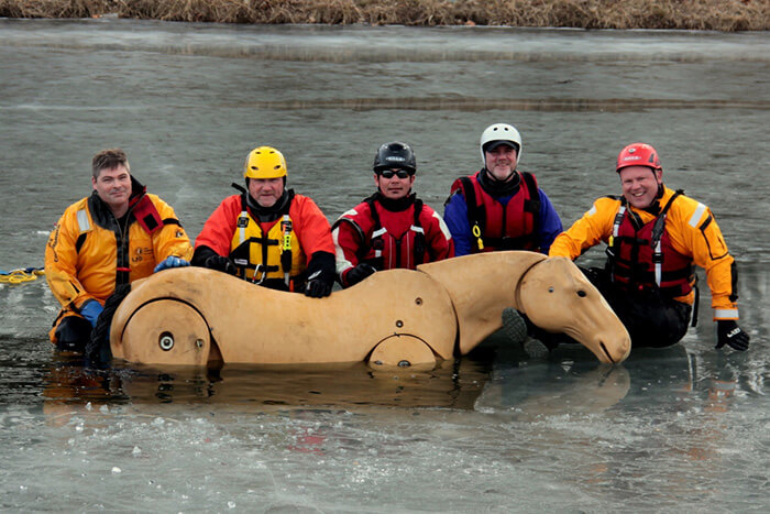 animal ice rescue training