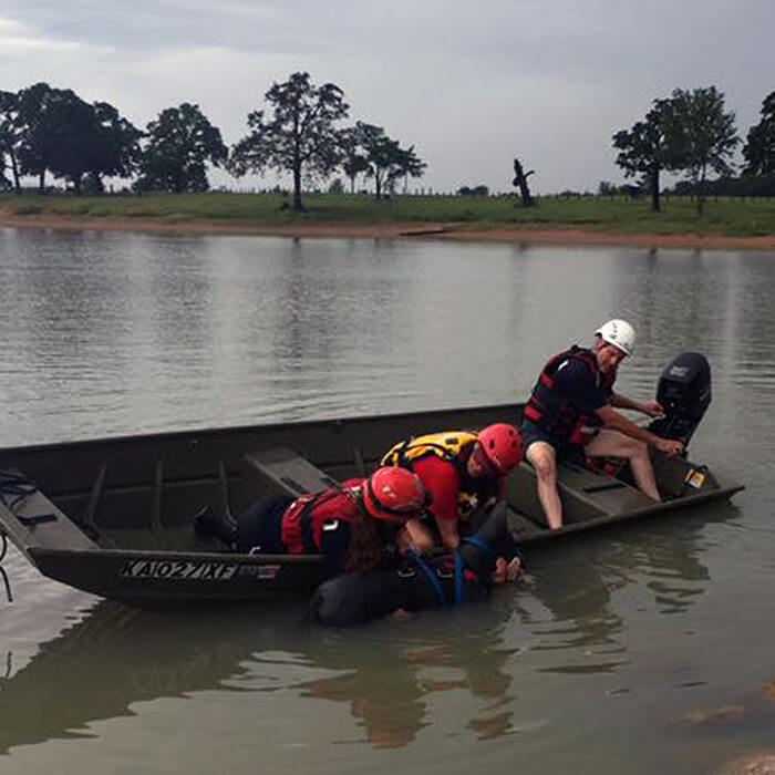 floodwater animal rescue training