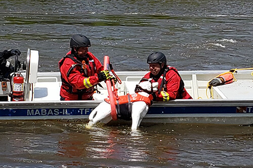 floodwater training